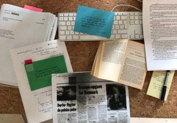 Status på bog 3 i serien om Agnethe Bohn – og fætteren Lars